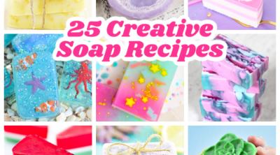 beautiful and creative handmade soap recipe ideas