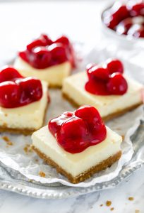 easy gluten-free cheesecake bar recipe