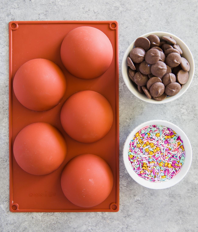 chocolate bowl tutorial