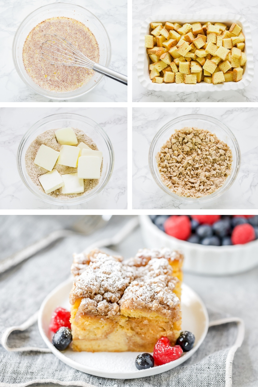 how to make overnight french toast step-by-step
