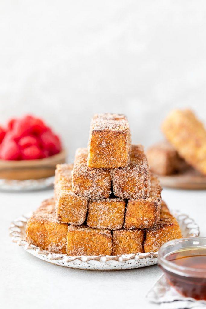 make ahead freezer-friendly french toast sticks