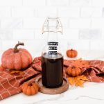 homemade pumpkin spice syrup for lattes