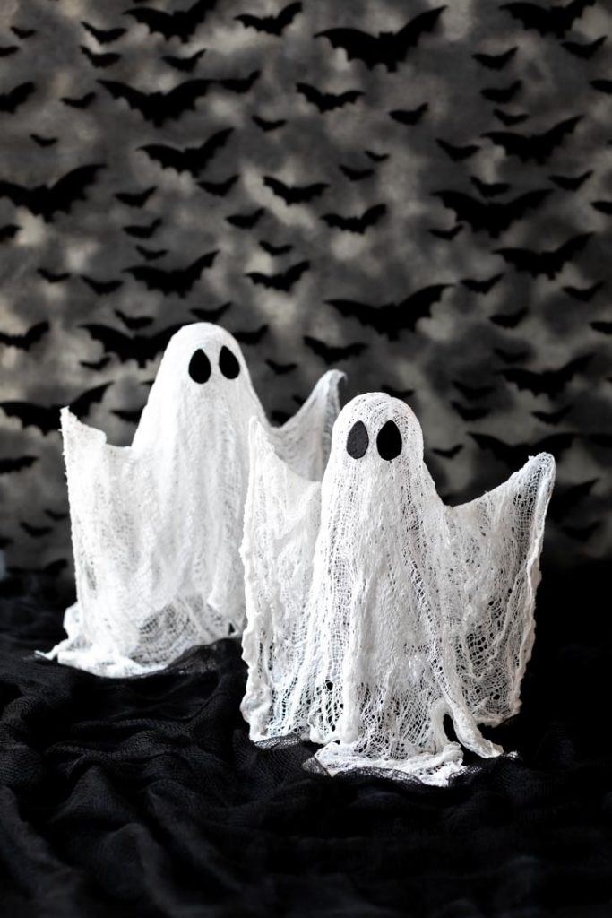 tabletop cheesecloth ghost